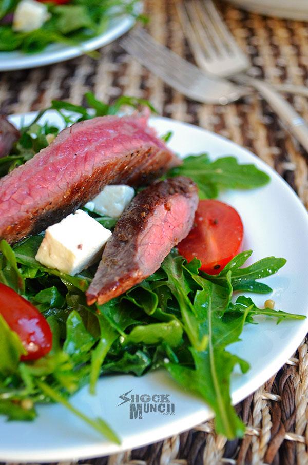 Arugula Steak Salad