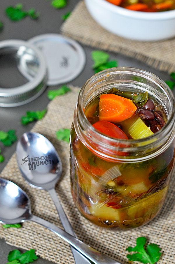 Detox Slow Cooker Vegetable Soup