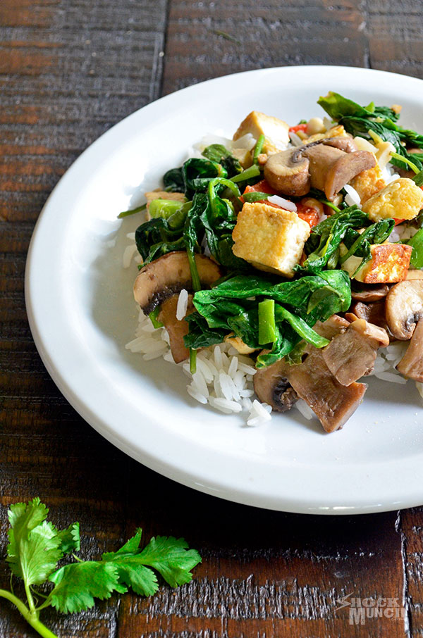 Stir-Fried Marinated Tofu And Mushrooms Recipes — Dishmaps