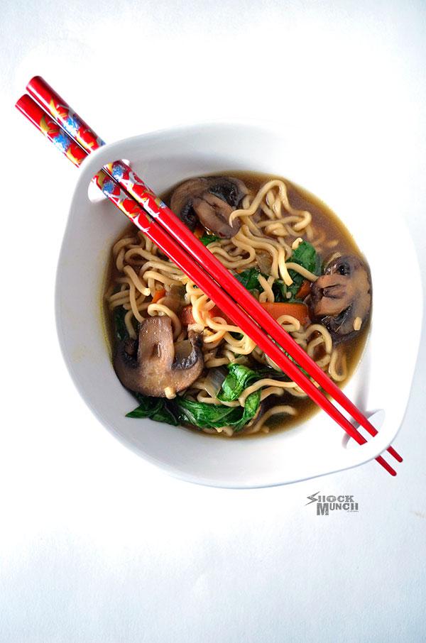 easy ramen noodle recipe  shock munch