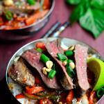 Sweet Thai Chili Steak Bowls