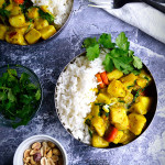 Sweet Potato Curry Bowls