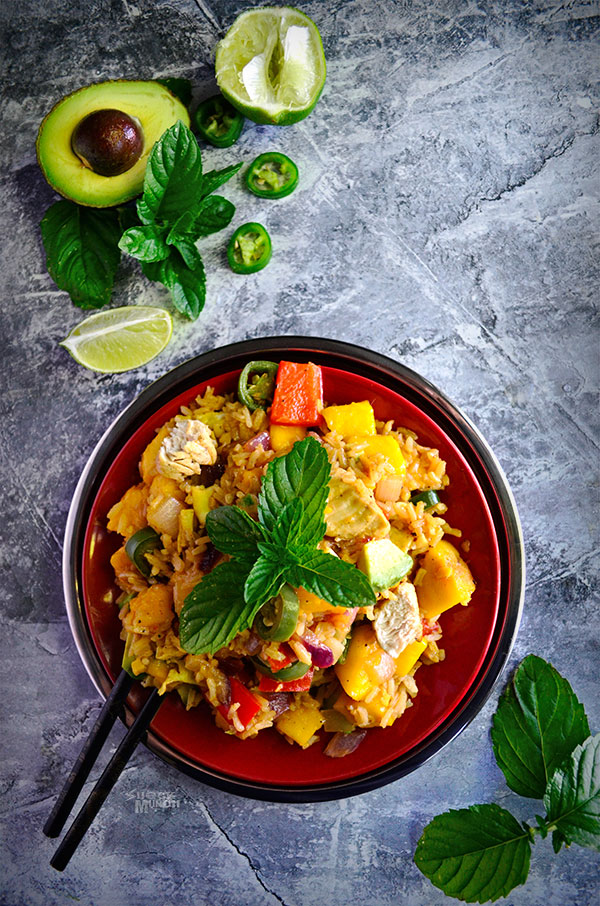Mango Chili Fried Rice