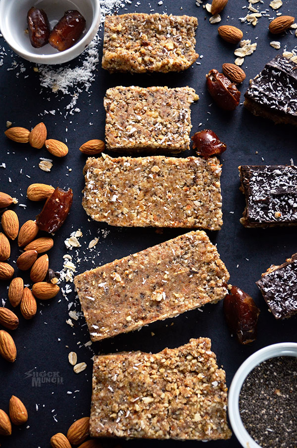 Raw and Chocolate Covered Protein Bars