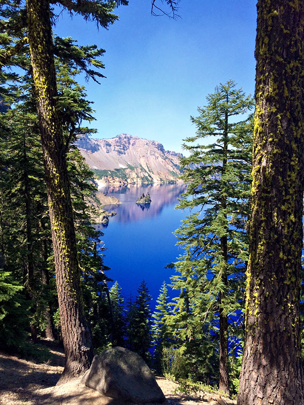 Camping at Crater Lake National Park