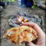 Camping Pizza Log