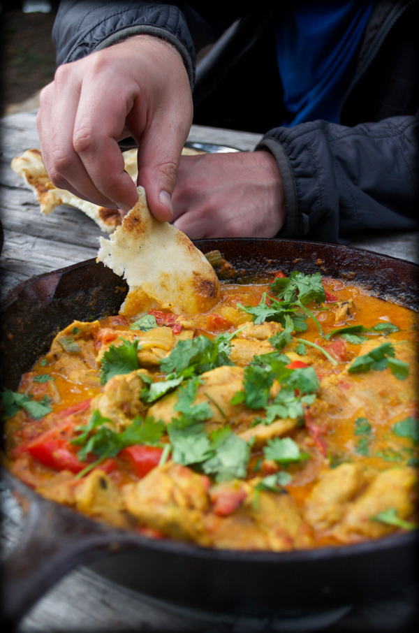 Campfire Butter Chicken