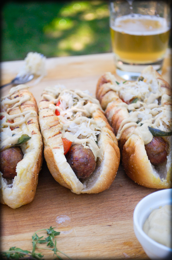 Juicy Buttery Beer Brats