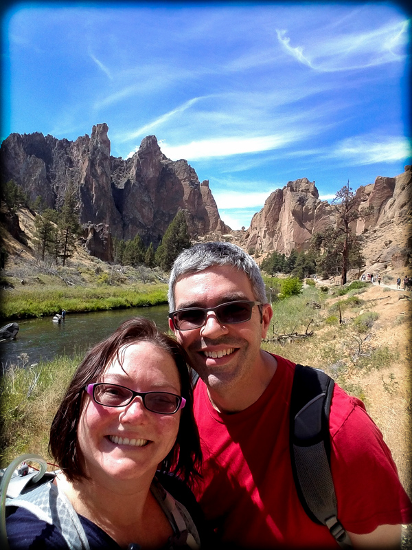 Smith Rock State Park and a Total Solar Eclipse