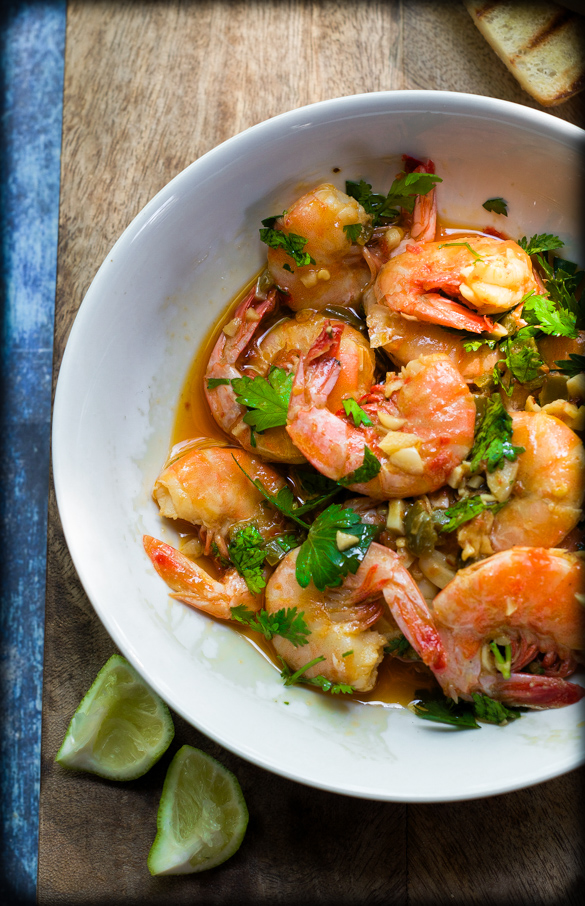 The BEST Yucatan Shrimp